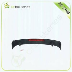 Fits For 2010 2013 Chevy Camaro Wing Abs Trunk Spoiler Led 3rd Brake Light