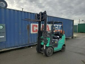 2009 Mitsubishi Fgc20n lp Cushion Tire Forklift