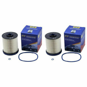 Ifjf Tp1015 Fuel Filter For 2017 Chevy Gmc 6 6 Liter Duramax Diesel Set Of 2