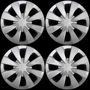 4 For Corolla Prius C 2003 2020 15 Hub Caps Full Set Wheel Covers Fit Steel Rim