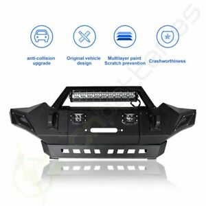 Front Bumper Guard For 2005 2015 Toyota Tacoma Complete Assembly Winch