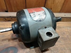 Rockwell Delta 1 2 Hp Ac Motor 1725 Rpm 3 Phase Tk66d320w Working Condition