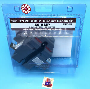 Circuit Breaker Pushmatic P250 50 Amp 2 Pole 120 240v