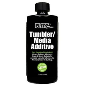 Flitz TumblerMedia Additive Cleans Polishes & Protects Brass & Nickel #TA04885 $15.01