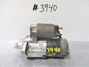 1999 Geo Tracker 2 0l Engine Automatic Transmission Starter Motor Assembly