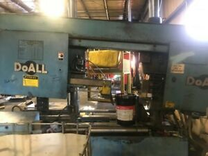 Doall C 650nc 25 Capacity Dual Column Automatic Bandsaw