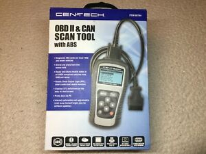 Cen tech Obd Ii Can Scan Tool With Abs Item 60794 New
