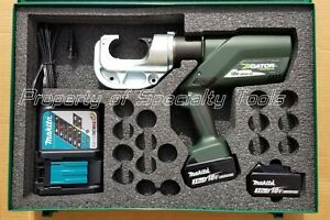Greenlee Gator Ek1240l Battery Hydraulic Crimper U Die Ek1240 Crimping Tool New