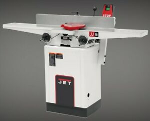 Jet Jj 6hhdx 6 inch Long Bed Helical Head Jointer