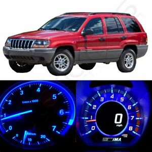 For 02 04 Jeep Grand Cherokee Instrument Panel Dash Gauge Bulb Led Kit 56pcs