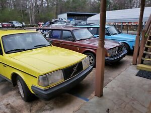 Custom Volvo 240 Wagon 245 Turbo Lot Of 3 1982 Turbo 1992 1993