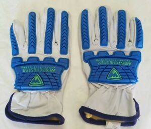 West Chester Protective Gear Sheep Leather Work Glove 78747 Size X large New