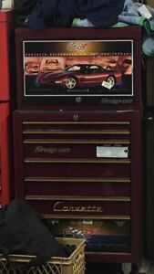 50th Anniversary Corvette Snap on Toolbox