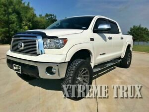 Black Paintable Oe Fender Flares Fits Toyota Tundra 07 13 W Factory Flaps Set 4