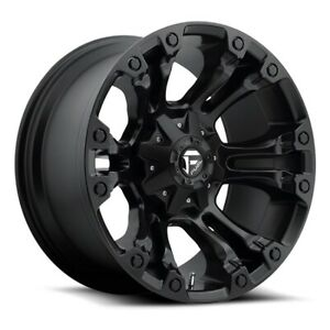 1 22 Inch Black Wheels Rims Dodge Ram 1500 Truck Fuel Offroad D560 Vapor 22x10