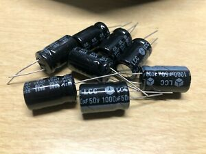 Lcc 1000uf 50v Radial Electrolytic Capacitor Nos
