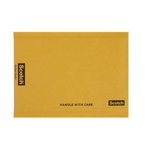 Scotch Bubble Mailer 7 25 X 11 inches Size 1 25 pack
