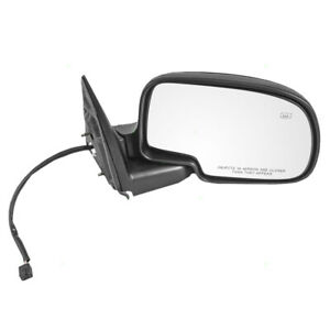 Passengers Power Side View Mirror Heated For Chevy Gmc Cadillac Pickup Truck Suv