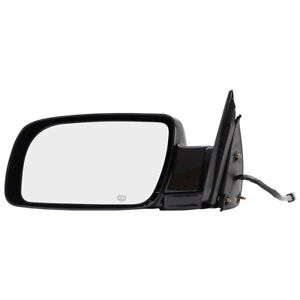 Driver Power Side View Mirror Heated For Cadillac Chevrolet Gmc Pickup Truck Suv