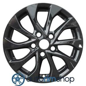 New 16 Replacement Rim For Nissan Sentra 2016 2019 Wheel Black