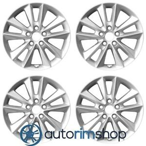 New 17 Replacement Wheels Rims For Kia Sorento 2019 Set Silver With Tpms Slot
