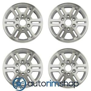 Chevrolet Colorado Gmc Canyon 2009 2012 16 Oem Wheels Rims Set