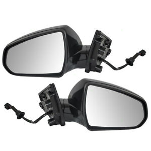 Pair Set Power Side View Mirrors Heated For 2010 2016 Cadillac Srx 1st Design