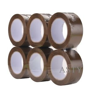 36 Rolls 2 x110 Yds 330 brown Carton Sealing Packing Package Tape 2mil