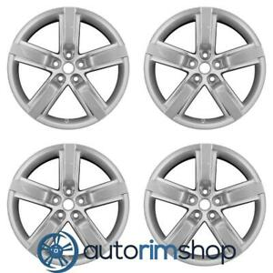 Chevrolet Camaro 2012 2015 20 Factory Oem Staggered Wheels Rims Set 92238133