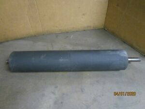 No Name 8 1 4 x 44 1 2 Steel Rubber Coated Drive Conveyor Roller