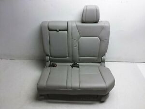 12 15 Honda Pilot Rear Driver Left Seat 2nd Row 81731 Sza A42zc Leather Gray