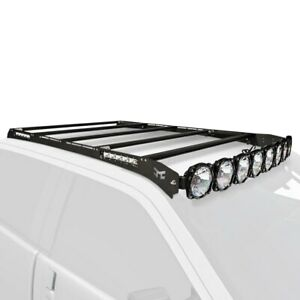For Chevy Silverado 3500 Hd 14 19 Kc Hilites Pro6 M Racks Roof Cargo Basket