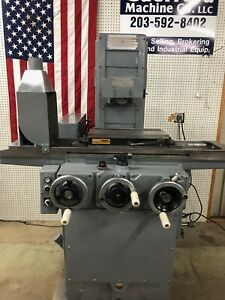 Brown Sharpe Micromaster 618 Surface Grinder W Walker Ceramax Magnetic Chuck