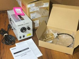 Pentax Lh 150pc Halogen Light Source W Water Bottle Medical Cord And Manual
