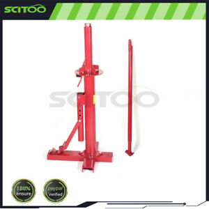 Portable Hand Tire Changer Bead Breaker Tooling Mounting Home Shop Automotive