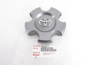 Genuine Oem Toyota 4260b 0c050 Silver Wheel Center Cap 2014 2017 Tundra