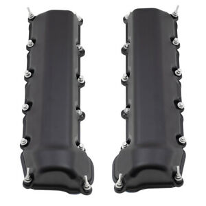 Pair Valve Covers W Gasket For Chrysler Jeep Mitsubishi Dodge Pickup Suv 4 7l