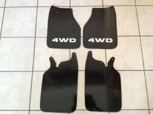 89 95 Toyota Pickup Truck Hilux 4x4 Mud Flaps Splash Guard Set 4wd Mud Guards