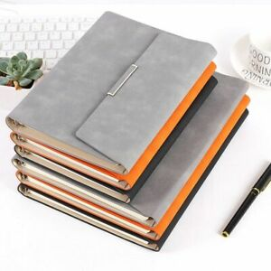 Retro Style Magnetic Buckle Notepads Pu Leather Covers Traveler Journal Notebook