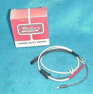 Nos Mallory Comp 9000 29775 Point Wire Harness Chevy Ford Dodge Pontiac
