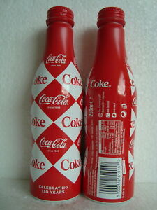 "Rare Coca Cola Limited Edition ""DIAMOND"" Alu Bottle from the NETHERLANDS 2016"