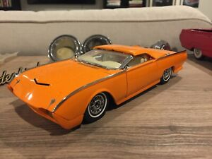 1961 1962 1963 Thunderbird Hot Rod Modified Metal Model Custom Look