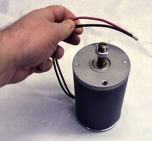 There 1 Hp 12 High Volt Dc Electric Motor Battery Powered 3000 Rpm