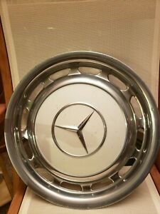 1970s 1980s Mercedes Benz Oem Vintage Wheel Cover Hub Cap Chrome Polish