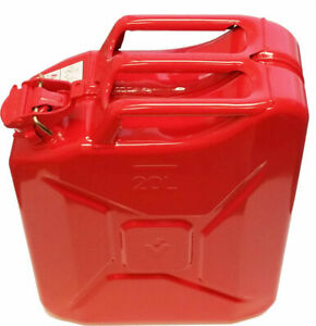 Valpro Nato Jerry Can 5 Gal 20l Red Made In Europe
