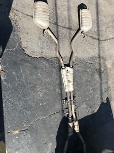 2001 Bmw 740il Catalytic Converter With Full Dual Exhaust System