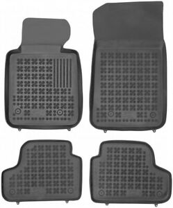 All Weather Floor Mats Set For Bmw 3 Series E93 2007 2013 Cabrio Only Black