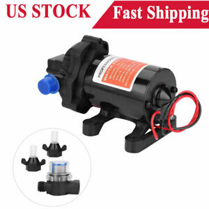 12v 3 5 Gpm Fully Automatic 45psi High Pressure Fresh Water Diaphragm Pump Hot