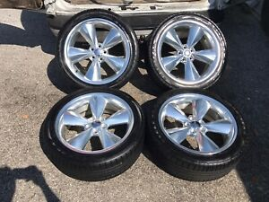 20 Dodge Charger Challenger Oem Polish Factory R t Sport Wheels Rims Tires