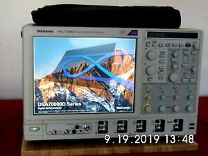 Tektronix Dsa72504d O scope 25 Ghz 100gs s Loaded Cal ed W data Rent Me